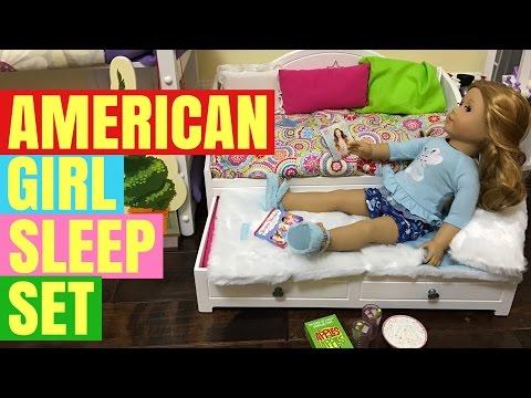 American Girl NEW Sleep Set