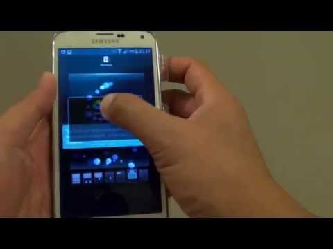 Samsung Galaxy S5: How to Remove Apps and Widgets from Home Screen