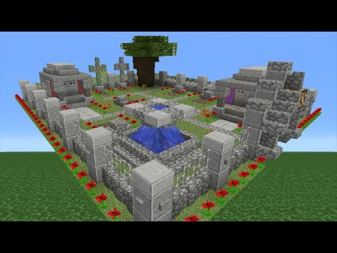 Minecraft Tutorial: How To Make A Graveyard