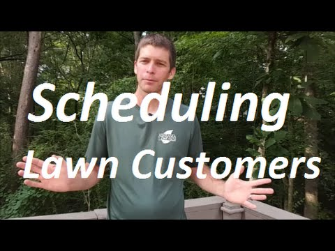 How to Schedule Lawn Care Customers to Maximize Profit