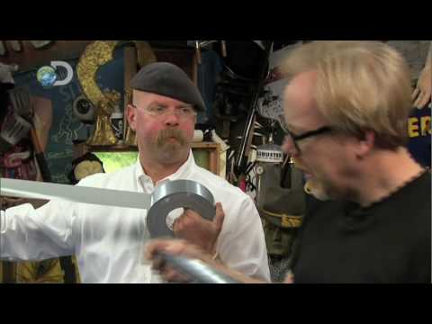 MythBusters - Duct Tape Hour - Duct Tape Car Lift