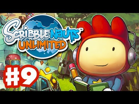 Scribblenauts Unlimited - Gameplay Walkthrough Part 9 - Inkwell High (PC, Wii U, 3DS)