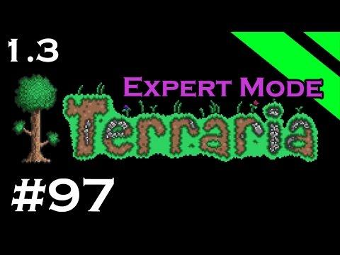 Let's Play Terraria 1.3 Expert Mode - Episode 97 - Megaphone