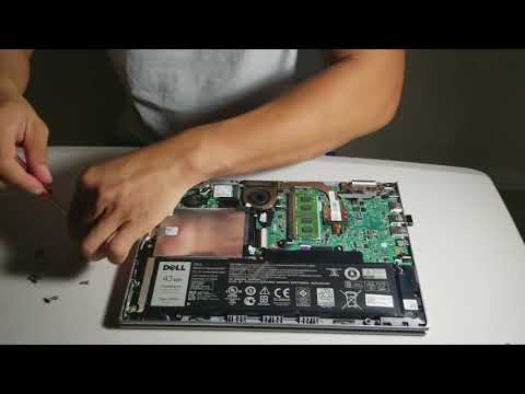 Dell Inspiron 11 series 3000 2in1 hard drive replacement