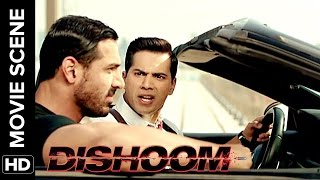 John gets mad on Honey Singh | Dishoom | Movie Scene