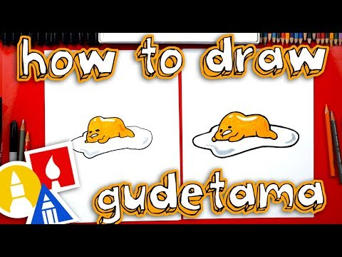 How To Draw Lazy Egg Gudetama 🍳