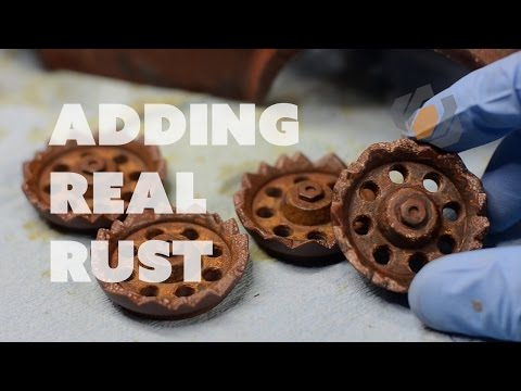 Prop: Live from the Shop - Adding Rust to the Mad Max R/C Car