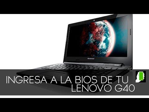 Ingresa a la BIOS en Tu Lenovo G40
