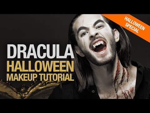 Dracula Untold halloween makeup tutorial