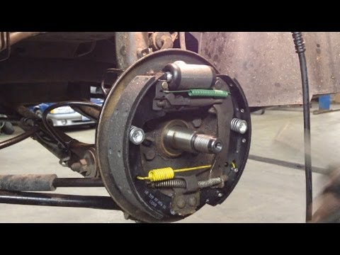 Ford Taurus Rear Drum Brakes Replacement
