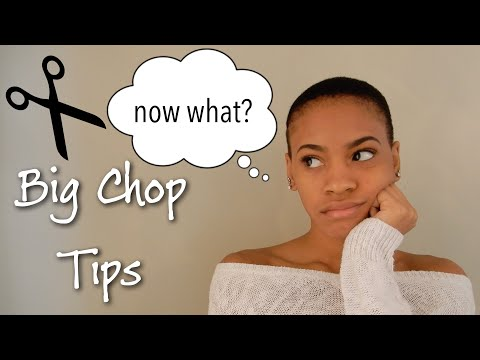 Tips for After the Big Chop
