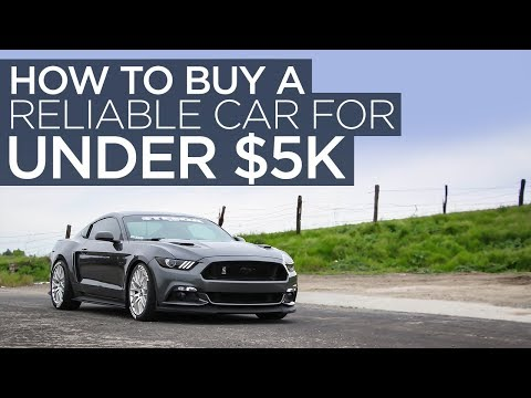How to Buy a Reliable Car for Less Than $5,000
