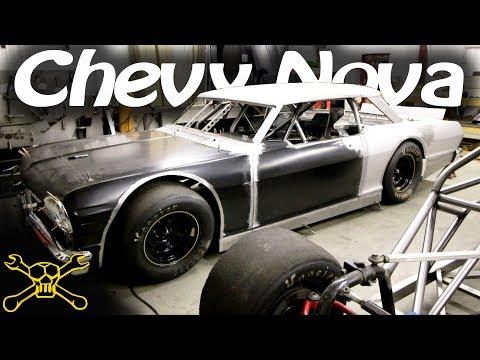 1964 Chevy Nova Body On A Hamke Late Model Race Car Chassis