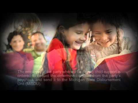 Income Withholding & Child Support Disbursement | MichiganDivorceHelp.com