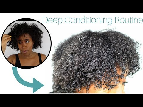 Dry ► SUPER Moisturized | Deep Conditioning Natural Hair