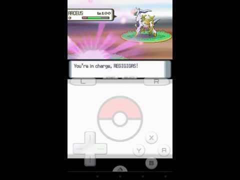 Pokemon Diamond (Arceus Catch without Azure)