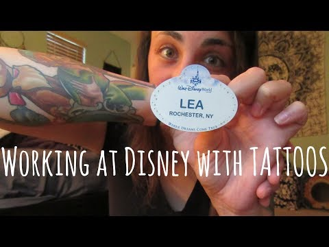 Tips for Working in Disney World with Tattoos