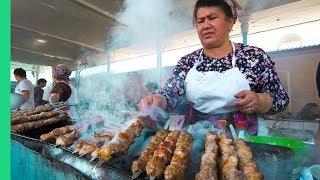 Download Death by Meat! Street Food in Tashkent, Uzbekistan! Video