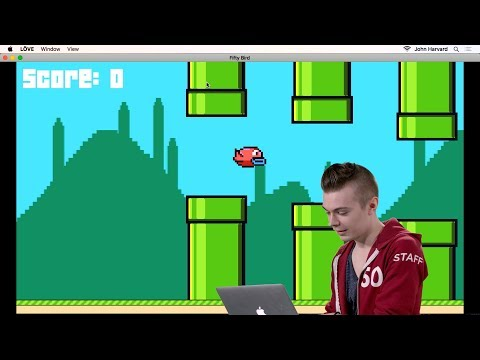 Flappy Bird - Lecture 1 - CS50's Introduction to Game Development