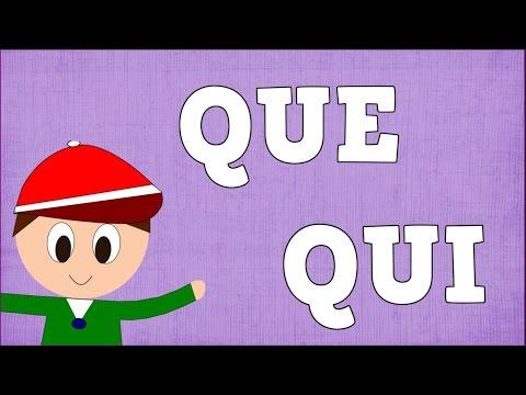 Xxx Mp4 Sílabas QUE QUI Syllable With Q Aprender A Leer Y Escribir Vídeos Para Niños 3gp Sex