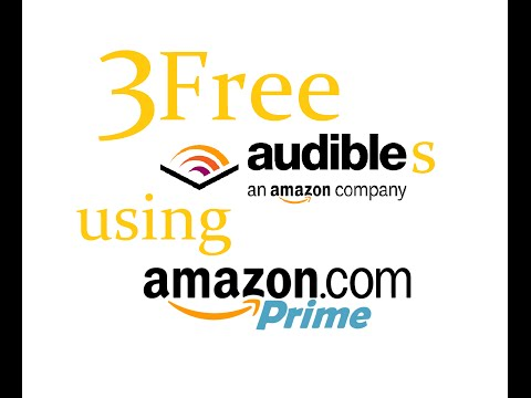 Audible Trick: THREE FREE months of Audible using Amazon Prime for FREE!