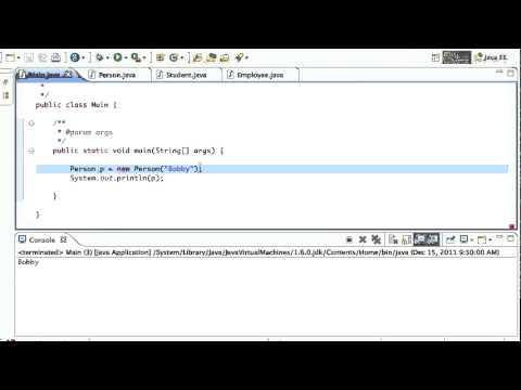Java Inheritance Tutorial