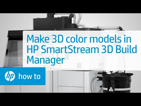 How to Prepare Colored Models for 3D Printing - HP SmartStream 3D Build Manager   HP Jet Fusion   HP
