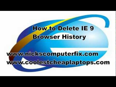 How To Delete History In Internet Explorer - Permanently Clear Cache