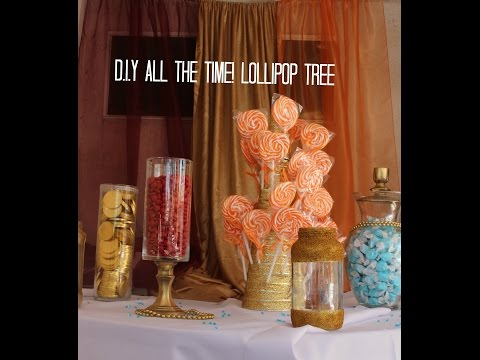 D.I.Y ALL THE TIME! Lollipop Tree