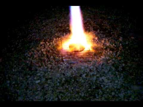 Flame broiled hamburger Winter LBI.