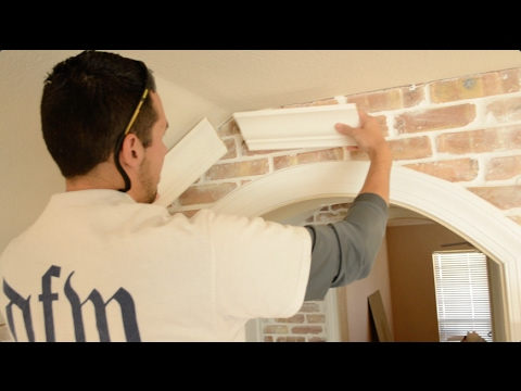 Vaulted Crown Moulding - How to Find Peak Angles