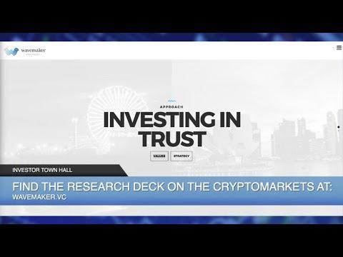 Cryptocurrency Hedge Fund - Wavemaker Genesis, Investing in Cryptocurrencies