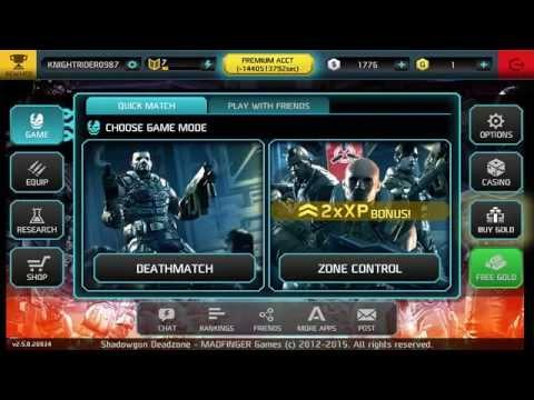 Shadowgun Deadzone Hack android no root updated