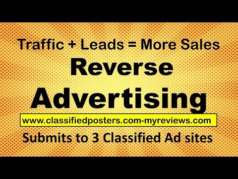 Reverse Local Business Classified Advertising