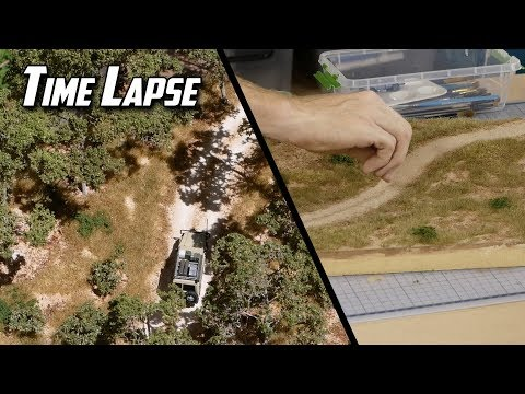 Building a Realistic Diorama - Australian Scenery Time Lapse