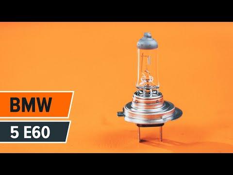 HOW TO REPLACE FOG LIGHT ON BMW 5 E60 TUTORIAL | AUTODOC