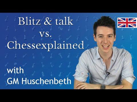 Blitz & talk Youtuber Special #1: vs. Chessexplained | Online Chess Game