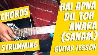 Hai Apna Dil To Awaara By Sanam Guitar Tutorial