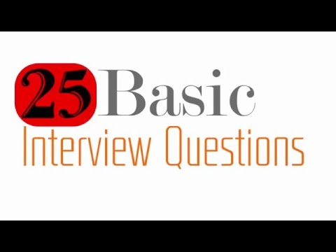 Basic Interview Question - Interview Question