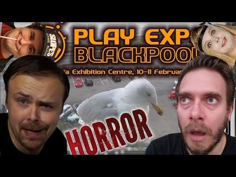 Nerd & Ashens go to Blackpool Play Expo (with Slope & Kim) | Nostalgia Nerd