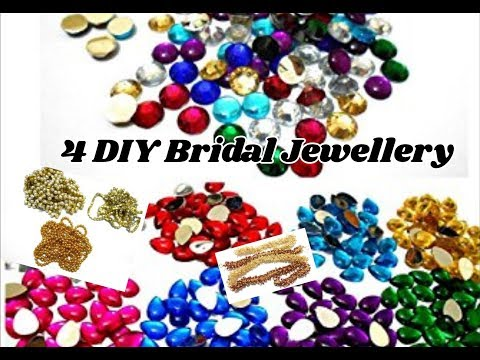 4 DIY Bridal Jewellery | Making bridal hair and other accessories