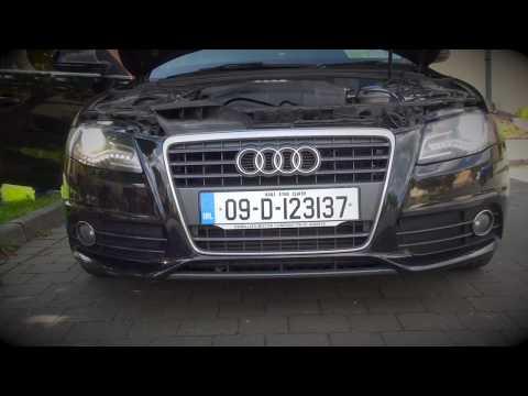 Audi A4 B8 2009 Xenon replacement.