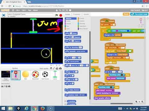Jake C Platformer - First Program In Scratch