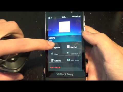 Making and Receiving Calls on BlackBerry 10