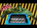 Experiment HULK VS SHREDDING MACHINE The Crusher