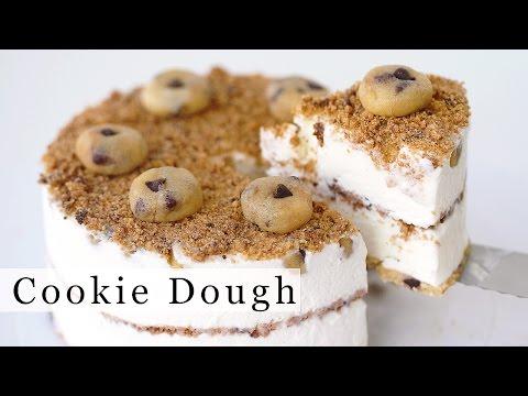 CHOCOLATE CHIP COOKIE DOUGH Ice Cream Cake Recipe 아이스크림 케잌 만들기