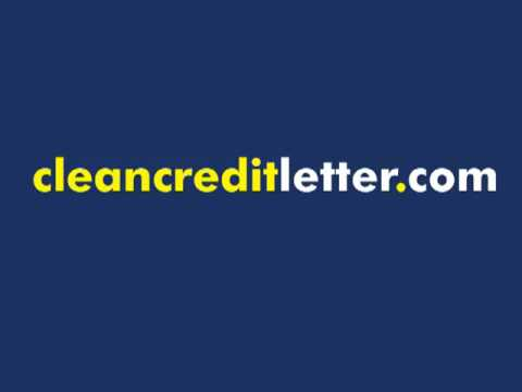 How to Repair Bad Credit in 20 Days using Simple Letter that Works!