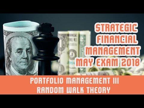 Portfolio Management   III | Random Walk Theory | Harry Markowitz Portfolio Theory