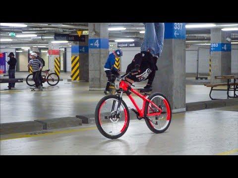 Taking over the stadium - MTB Stunt