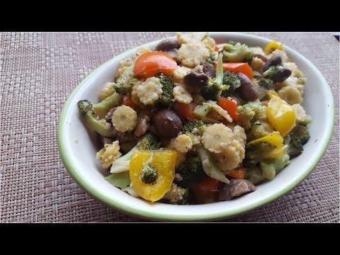 Mushroom-babycorn-brocolli Stir Fry   Mix Veg   Quick Recipe